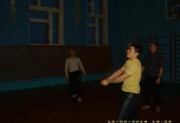 Играем в волейбол