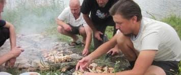 Рыбалка и шашлыки