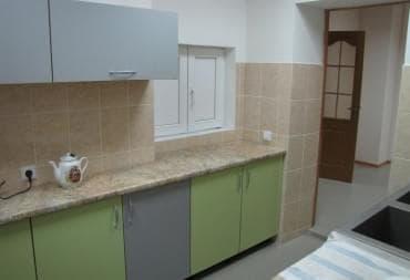 Кухонная мебель удобна и эргономична