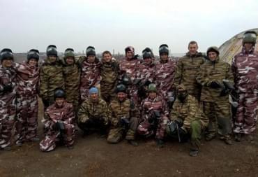 Команды в боевой экипировке