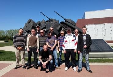 Памятник танковой битве на Прохоровке