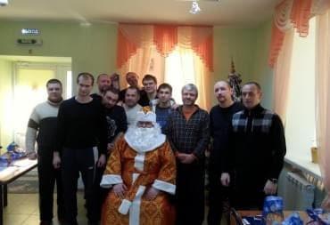 Дед Мороз пришёл с подарками