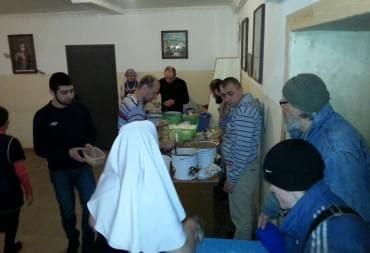 Помощь Марфо-Мариискому сестричеству милосердия
