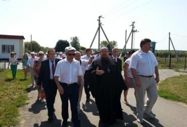 Нас посетил наш губернатор Савченко Е.С.