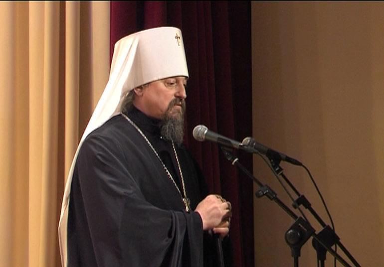 Выступление владыки Иоанна митрополита Белгородского и Старооскольского